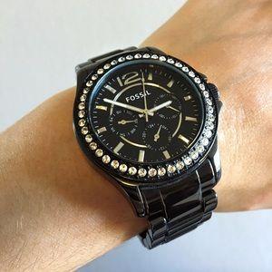 Women's Fossil multi-function watch